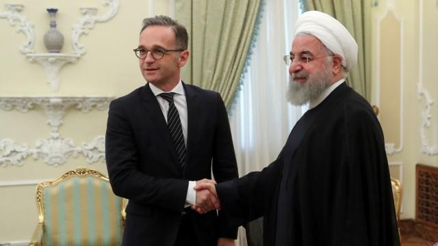 Außenminister Maas im Iran