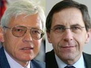 Wolfgang Schaupensteiner (links) und Daniel Noa, Fotos: dpa, ddp