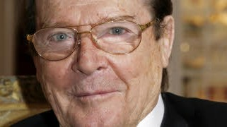 Roger Moore; AFP
