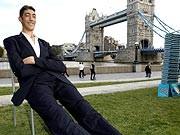 Sultan Kosen größter Mann der Welt