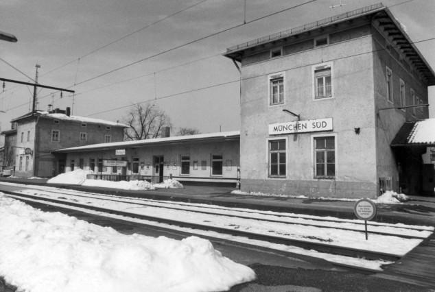 Bahnhof München Süd