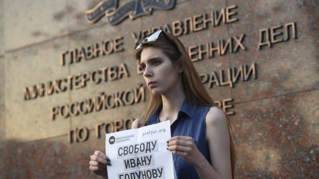 Journalismus Proteste in Russland