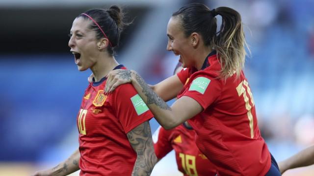 Frauenfußball-WM - Spanien - Südafrika