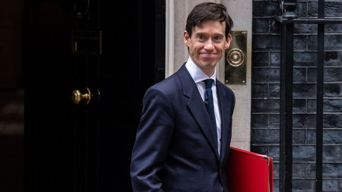 Großbritannien Premierminister Kandidat Stewart
