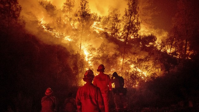 Waldbrandgefahr USA