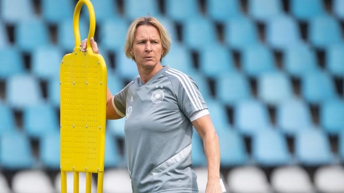 Frauenfußball-WM - Training Deutschland