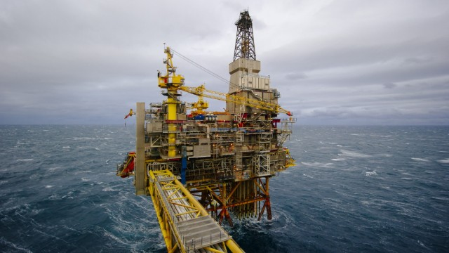Tour Of Statoil ASA's Oseberg Gas Drilling Platform