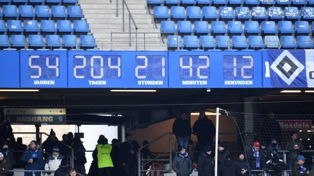 Uhr im Volksparkstadion