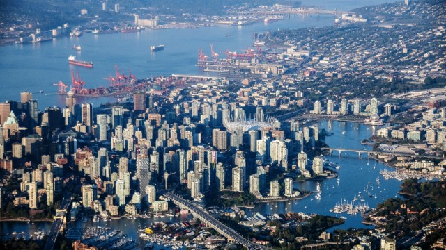 Aerial Views Of Canada's Most Densely Populated City As Investors Lift Canadian Commercial Real Estate To Record Quarter