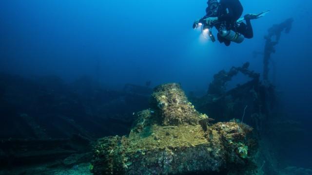 Florian Huber, Unterwasserarchäologe aus Lenggries