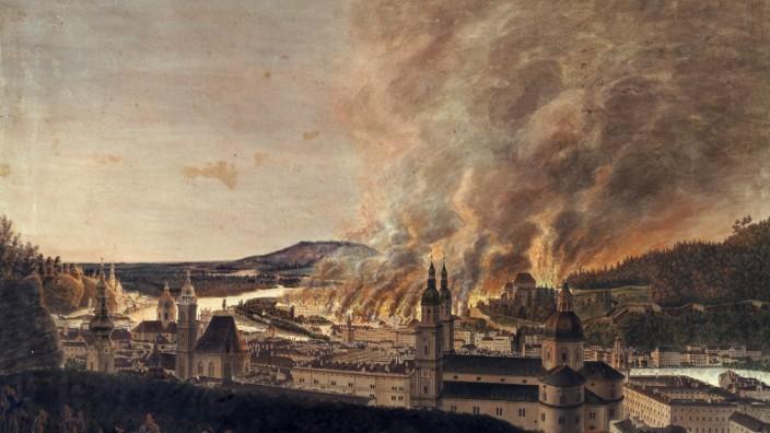Der große Brand von Salzburg 1818