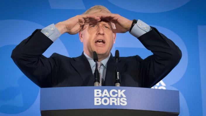 Kandidaten für die May-Nachfolge - Boris Johnson