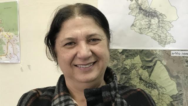 Samira Azam, Drusin aus Daliyat al-Karmel