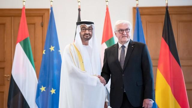 Scheich Mohammed bin Said Al Nahjan bei Steinmeier