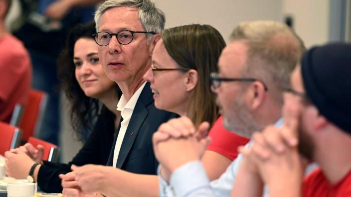 Auftakt Koalitionsverhandlungen in Bremen