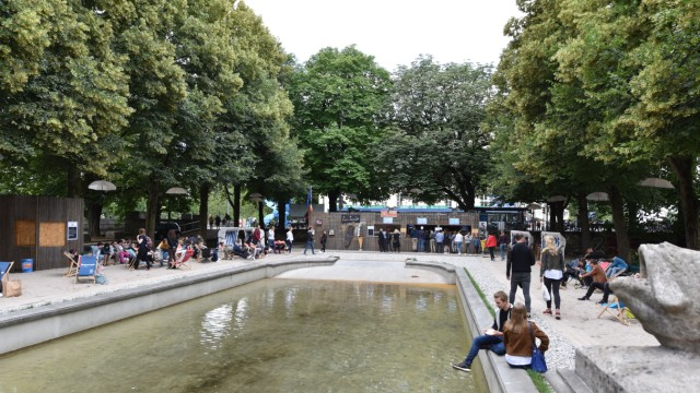Kulturstrand in München, 2018