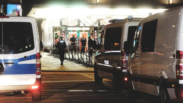 Tatortbesichtigung zur Chemnitzer Messerattacke