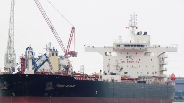 """Tanker """"Front Altair"""" im Jahr 2018"""