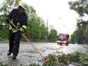 Unwetter fordert Todesopfer, dpa