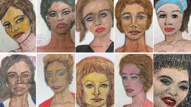 Portraits Opfer von Samuel Little