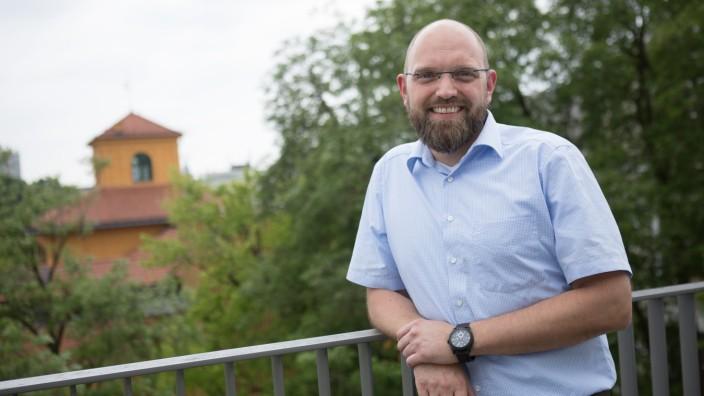 Klimaforscher Matthias Garschagen der LMU, Luisenstraße 37