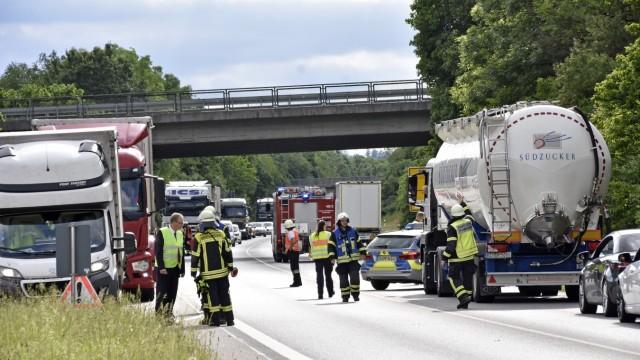 Fürstenfeldbruck Schwerer Verkehrsunfall