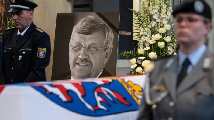 Trauerfeier für getöteten Kasseler Regierungspräsidenten