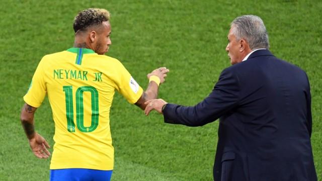 Tite und Neymar