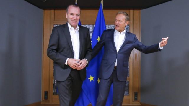 Treffen zu EU-Spitzenposten