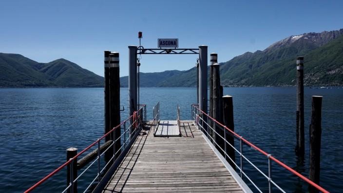 Karte Lago Maggiore Und Umgebung.Italien Und Die Schweiz Streiten Um Lago Maggiore Panorama