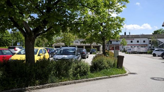 Wolfratshausen Parkhaus am Hatzplatz