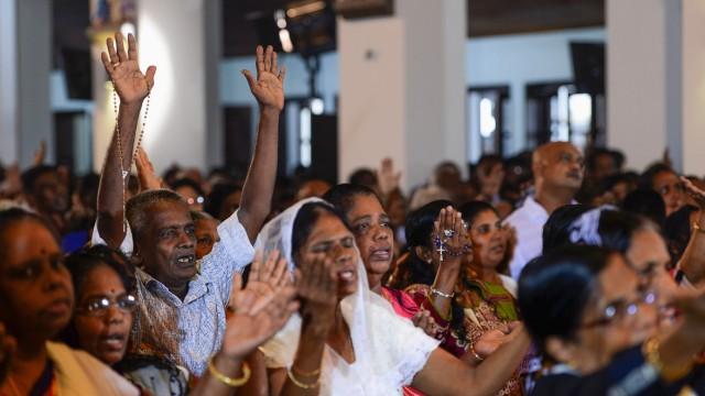 Politik Sri Lanka Attacken auf Kirchen und Hotels