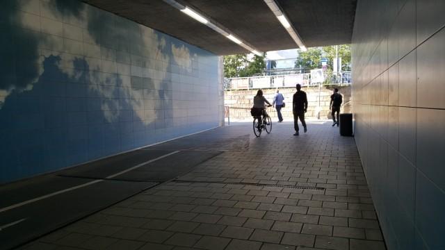 Wolkentunnel Pasinger Bahnhof