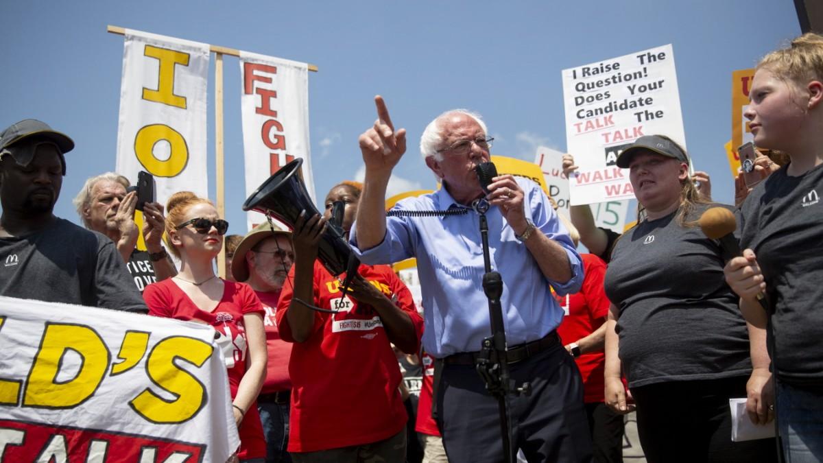 Showdown mit Joe Biden und Bernie Sanders