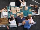 Erste Besucher auf Ideen-Expo in Hannover (Vorschaubild)