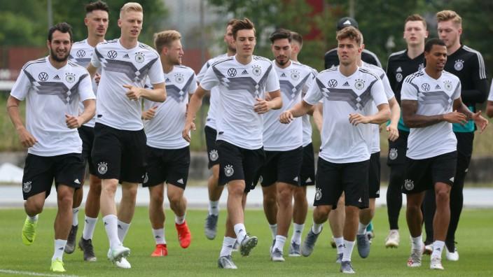 U21-EM - Training Deutschland