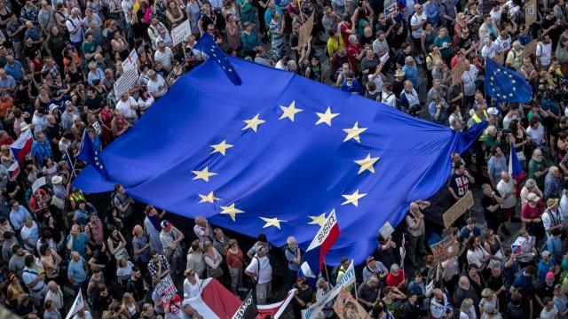 Czechs protest against Prime Minister Babis in Prague, Czech Republic - 04 Jun 2019