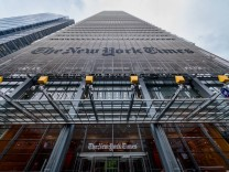 US Protest over NY Times anti semitic cartoon New York Times Headquarters Jewish organizations h