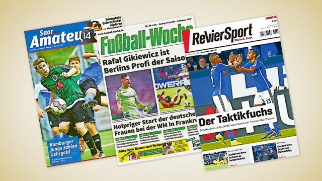Süddeutsche Zeitung Medien Fußballzeitschriften