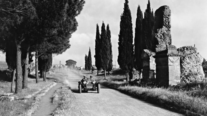 Via Appia in Rom, 1933