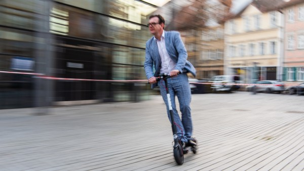 Vorstellung der Bird E-Scooter in Bamberg
