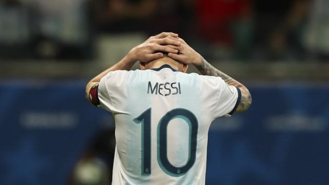 Internationaler Fußball Argentinien bei der Copa