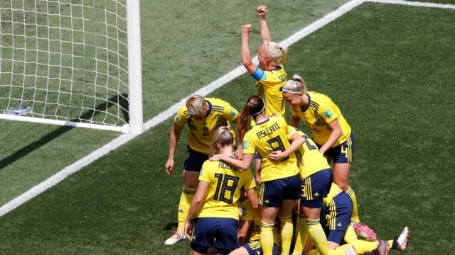 Women's World Cup - Group F - Sweden v Thailand