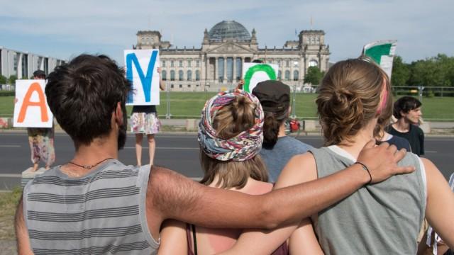 We4Future-Camp - Klimaprotest im Regierungsviertel