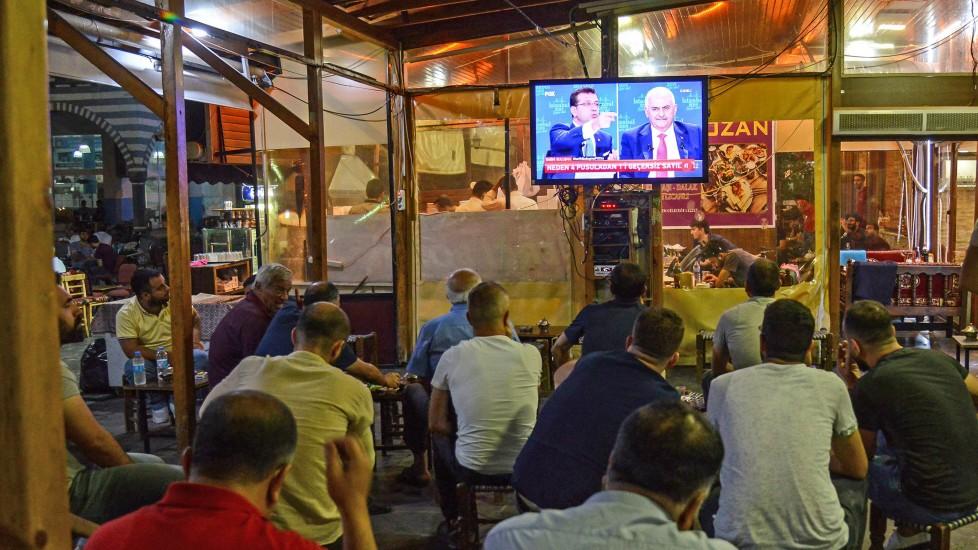 Für türkische Verhältnisse wird wenig geschmipft