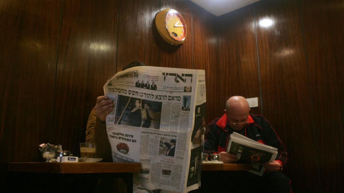 """""""Viele lesen Haaretz, weil sie keine Alternative haben"""""""