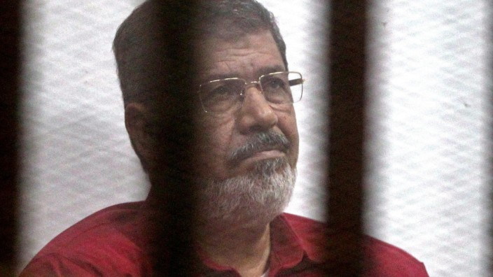 Ousted Egyptian President Mohamed Morsi trial