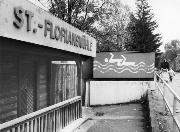 Freibad St. Floriansmühle, 1992