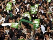 Iran, Mussawi, Anhänger, Demo, Ahmadinedschad, Präsdentenwahl