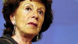Neelie Kroes, AFP